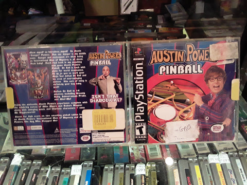 Austin Powers Pinball Used Playstation 1 Game