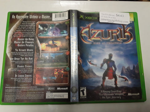Azurik Rise of Perathia Used Original Xbox Video Game