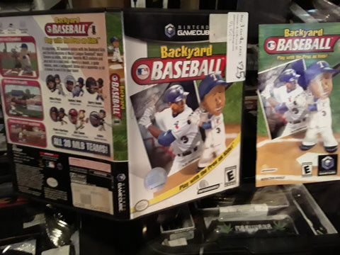 Backyard Baseball MLB Used Nintendo Gamecube Video Game