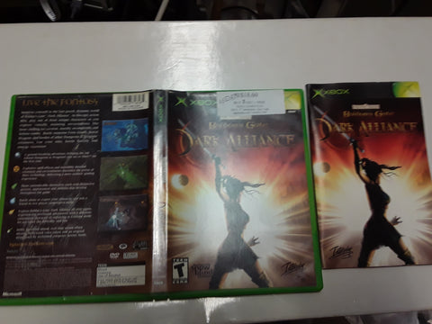 Baldurs Gate Dark Alliance Used Original Xbox Video Game