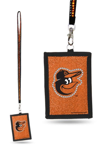 Baltimore Orioles MLB Lanyard ID Holder Keychain