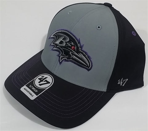 Baltimore Ravens NFL Black Radial MVP Adjustable Hat