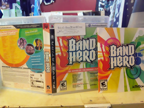 Band Hero Used PS3 Video Game