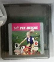 Barbie Pet Rescue Gameboy Color Used Video Game Cartridge