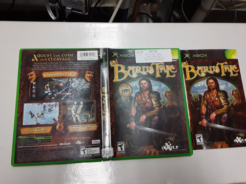 Bard's Tale Used Original Xbox Video Game