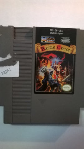 Battle Chess Original Nintendo NES USED Game