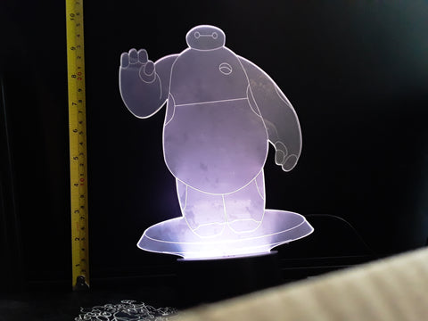 Big Hero 6 Disney JUMBO Color-Changing LED Helmet Night Light Lamp
