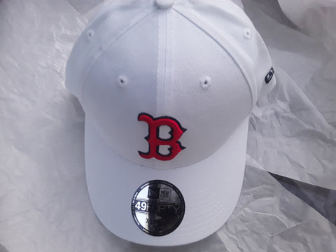 Boston Red Sox MLB White EXTRA SMALL Fitted New Era 49FORTY Baseball Cap Hat