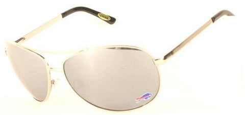 Buffalo Bills NFL Aviator Sunglasses With Spring Hinge