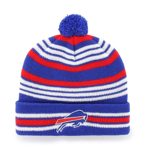 Buffalo Bills NFL Sonic Blue Rickshaw OTS Knit Cuff Winter Cap Hat w/ Pom Pom