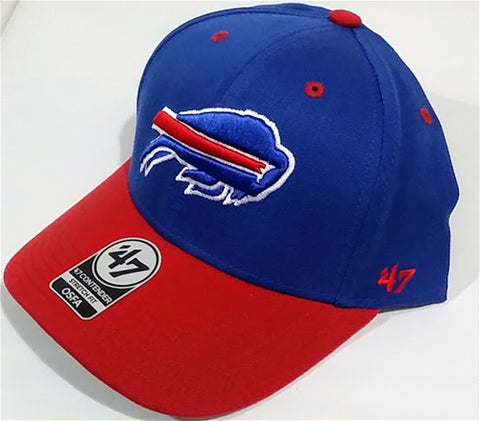 Buffalo Bills NFL Kick Off 2 Tone Contender Stretch Fit Hat 47 Brand