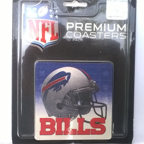 Buffalo Bills NFL Premium Coasters 10-Pack