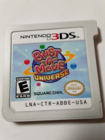 Bust A Move Universe Used Nintendo 3DS Video Game