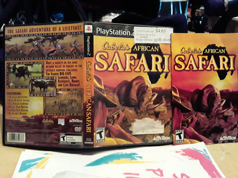 Cabela's African Safari USED PS2 Video Game