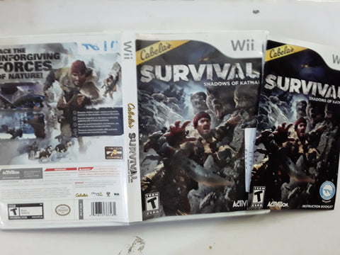 Cabela's Survival Shadows of Katmai Used Nintendo Wii Video Game