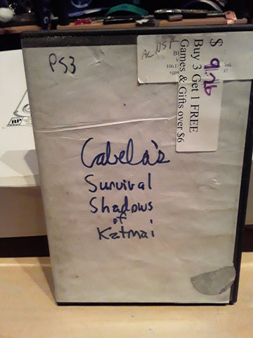 Cabela's Survival Shadows of Katmai Used PS3 Video Game