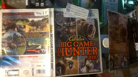 Cabela's Dangerous Hunts 2010 Used Nintendo Wii Hunting Video Game