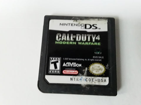 Call of Duty 4 Modern Warfare Used Nintendo DS Video Game Cartridge