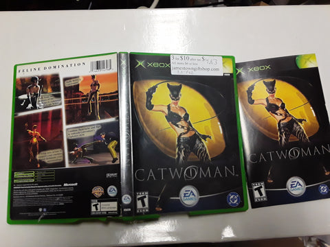 Catwoman Used Original Xbox Video Game