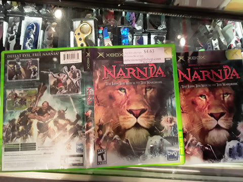 Chronicles of Narnia Used Original Xbox Video Game