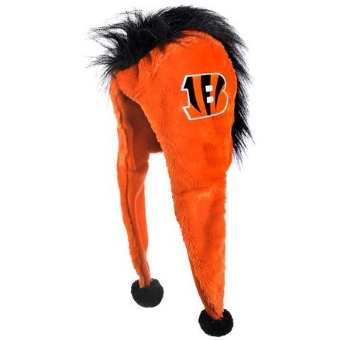 Cincinnati Bengals NFL Mohawk Short Thematic Dangle Hat