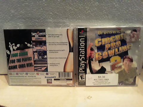 Circuit Pro Bowling 2 Used Playstation 1 Game