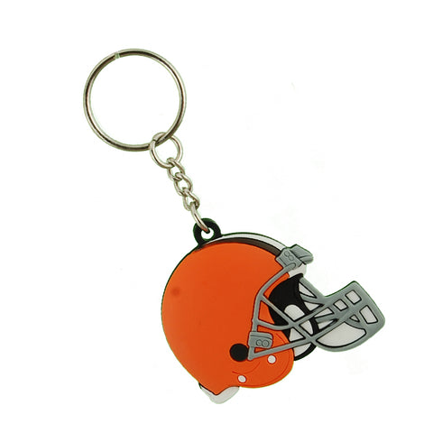 Cleveland Browns Vinyl Helmet Key Chan Ring
