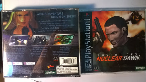 Covert Ops Nuclear Dawn USED Playstation 1 Game