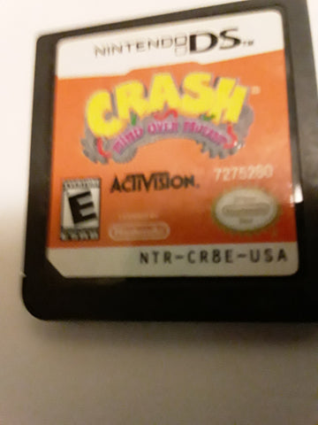 Crash Bandicoot Mind Over Mutant Used Nintendo DS Video Game Cartridge
