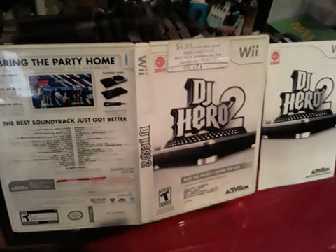DJ Hero 2 Used Nintendo Wii Video Game