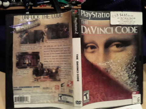 Da Vinci Code USED PS2 Video Game