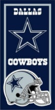 Dallas Cowboys NFL Cotton 30x60 Beach Towel