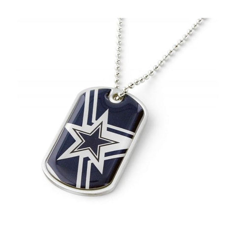 Dallas Cowboys NFL Dynamic Dog Tag Necklace