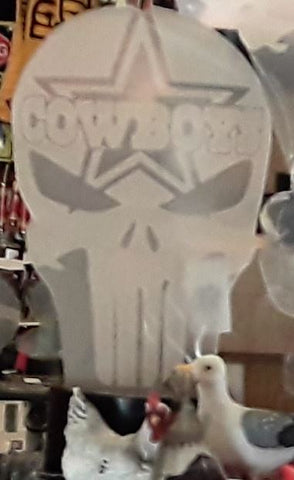 Dallas Cowboys Punisher Skull NFL Color Changing LED Night Light