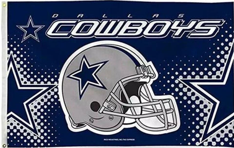Dallas Cowboys NFL 3x5 Feet Helmet Flag