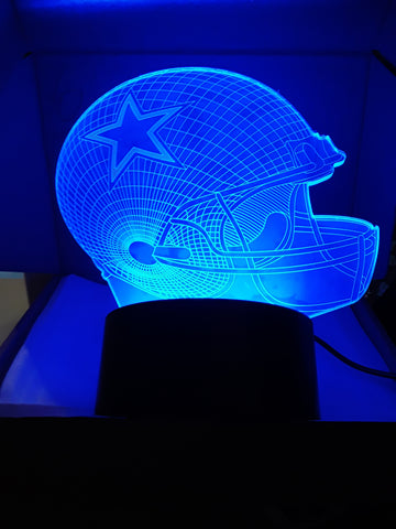 Dallas Cowboys NFL LED Light Smaller 5.5 Inch Size