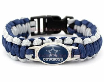 Dallas Cowboys Paracord NFL Bracelet