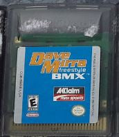 Dave Mirra Freestyle BMX Used Gameboy Color Video Game Cartridge