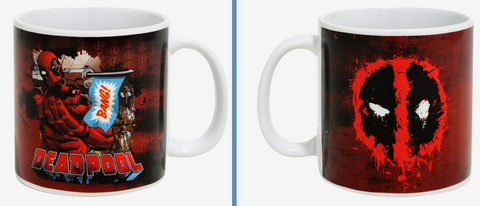 Deadpool 15 Oz Ceramic Bang Mug