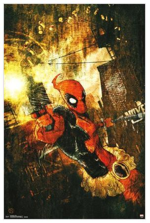 Deadpool Shells 22x34 Poster