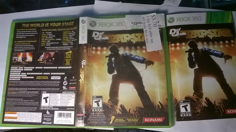 Def Jam Rapstar USED Xbox 360 Video Game