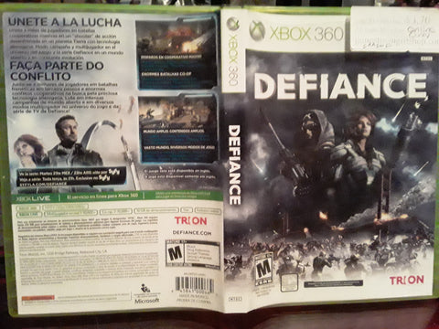 Defiance Online Used Xbox 360 Video Game