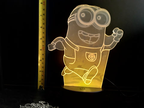 Despicable Me Minion Color-Changing LED Night Light Lamp