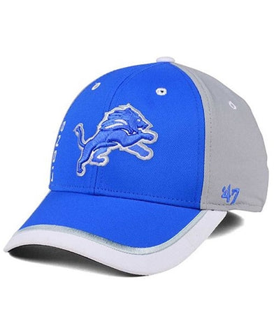 Detroit Lions NFL Crash Line Contender Stretch Fit Hat
