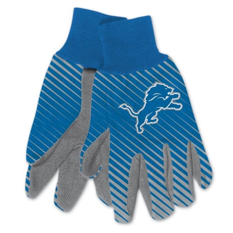 Detroit Lions NFL Full Color Sublimated Gloves