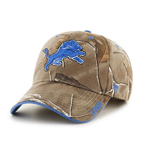 Detroit Lions NFL Realtree Frost MVP Adjustable Cap Hat
