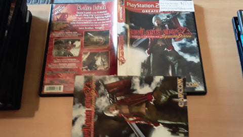 Devil May Cry 3 USED PS2 Video Game