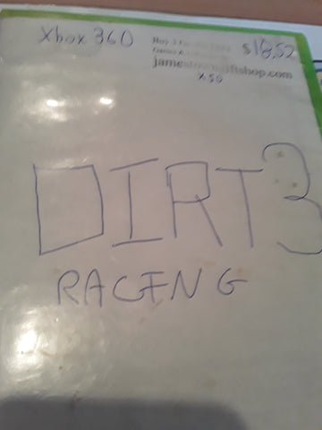 Dirt 3 Racing Used Xbox 360 Video Game