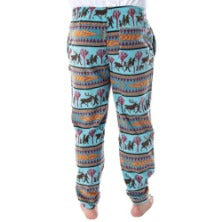 Disney Frozen 2 Autumnal Fair Isle Fleece Joggers for Men and Women