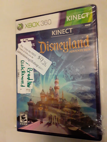 Disney Land Kinect Adventures Xbox 360 Video Game